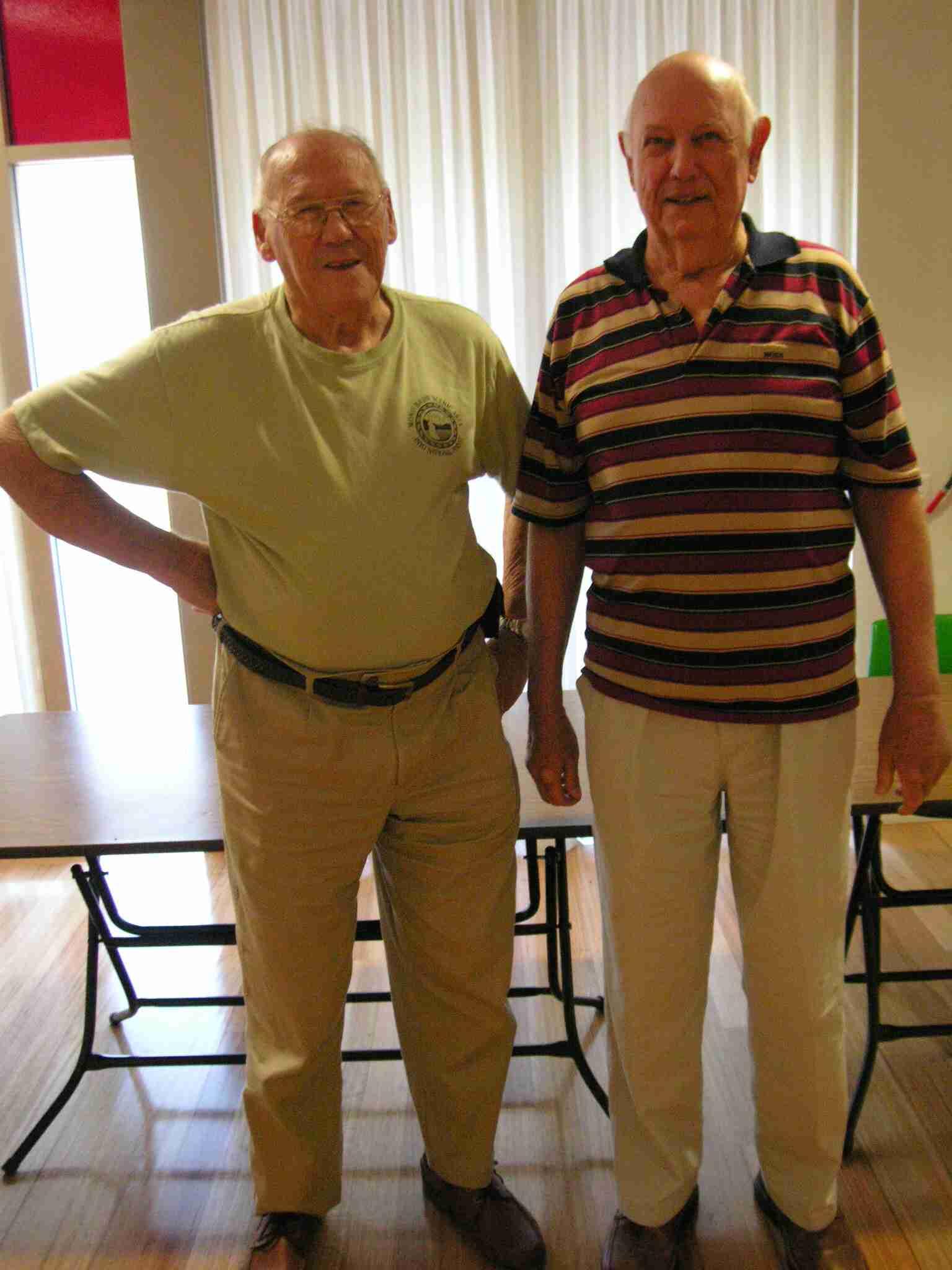Michael O'Dea & Peter Henderson (12 May 2012)
