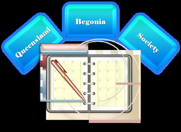 Queensland Begonia Society Schedules